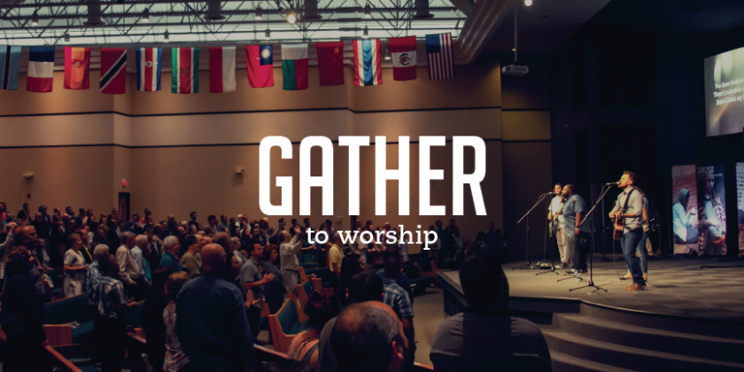 We Do NOT Gather to Worship!
